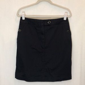 Dark Navy Blue Skirt